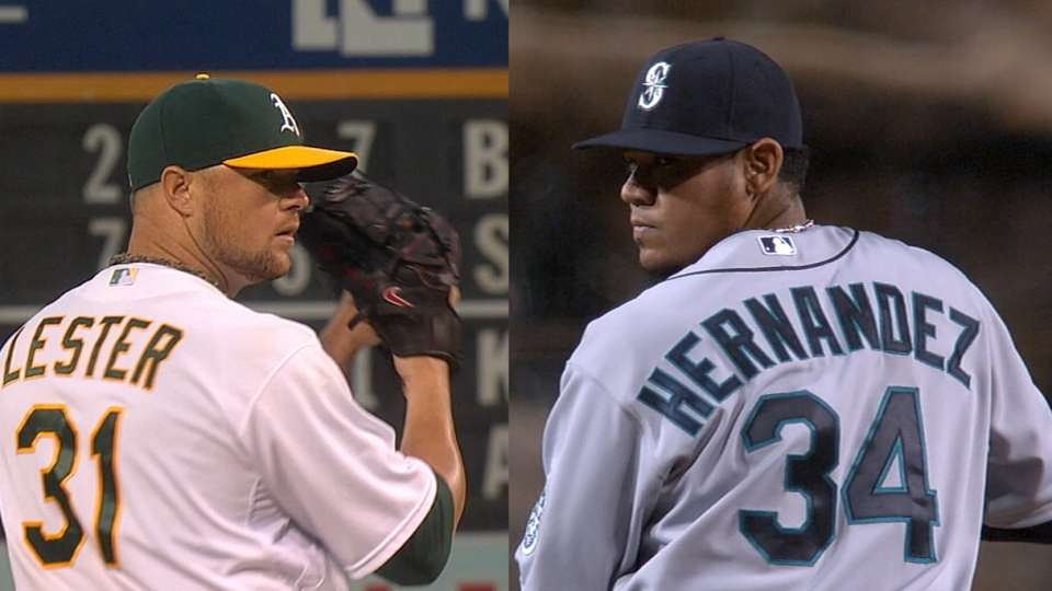 Ace-off: Hernandez vs. Lester