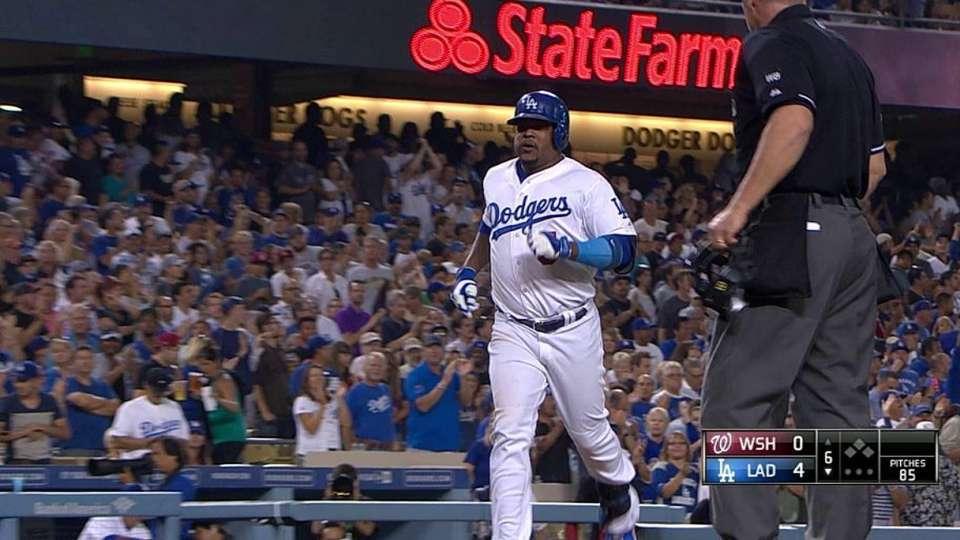 Uribe's two-run home run