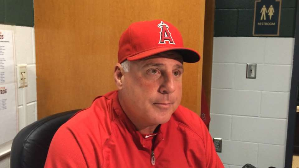 Scioscia on Wilson's outing