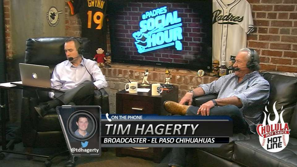Hagerty on Padres Social Hour