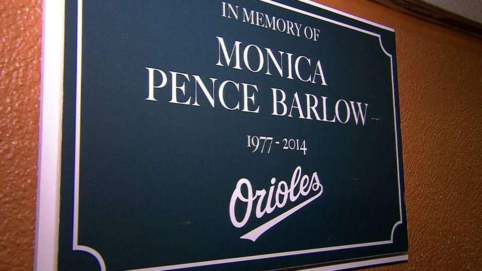 Monica Barlow honored
