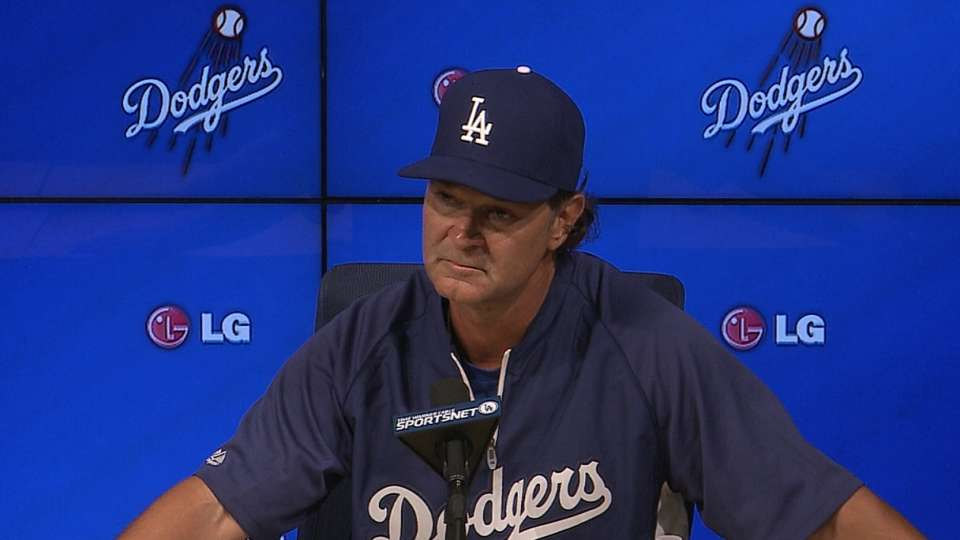 Mattingly on Dodgers' victory