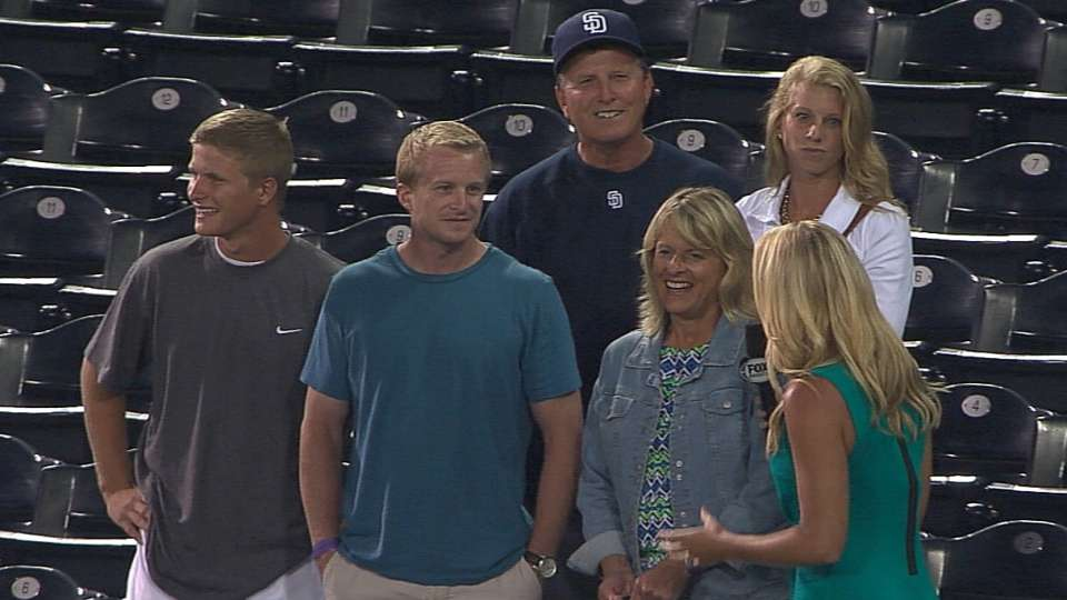 Spangenberg's family celebrates
