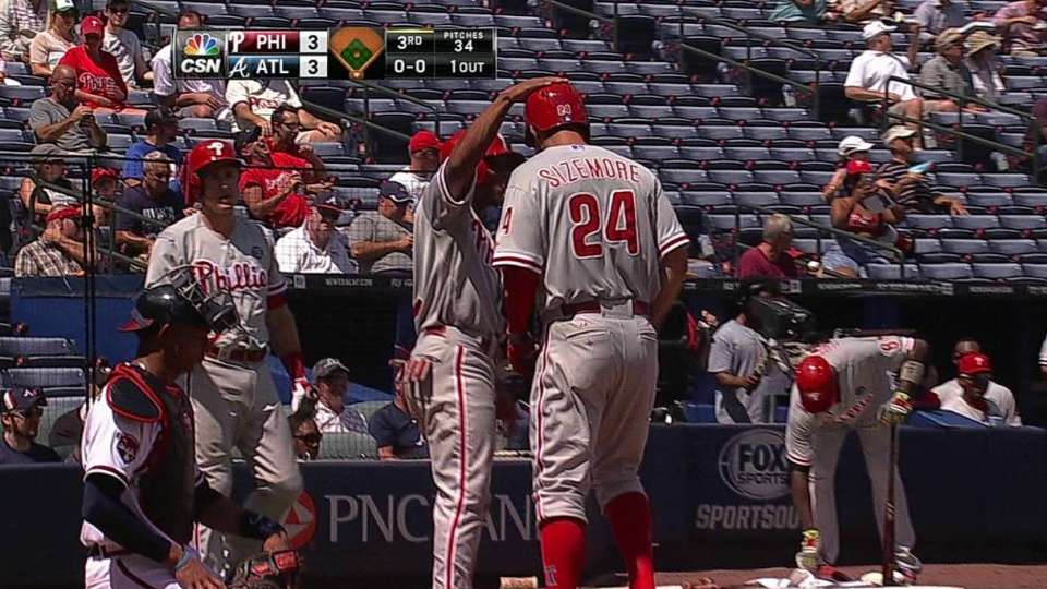 Sizemore's two-run homer