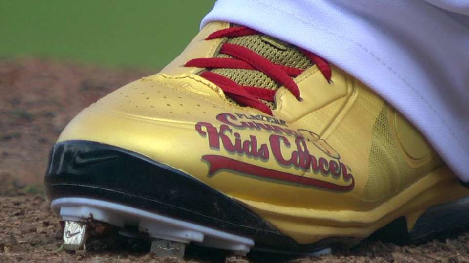 Kimbrel's cleats raise awareness