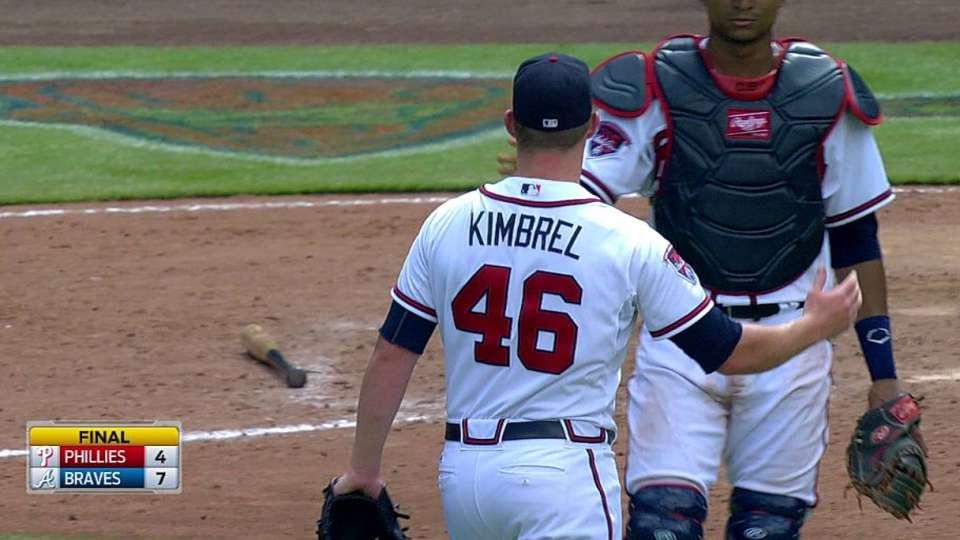 Kimbrel closes the door
