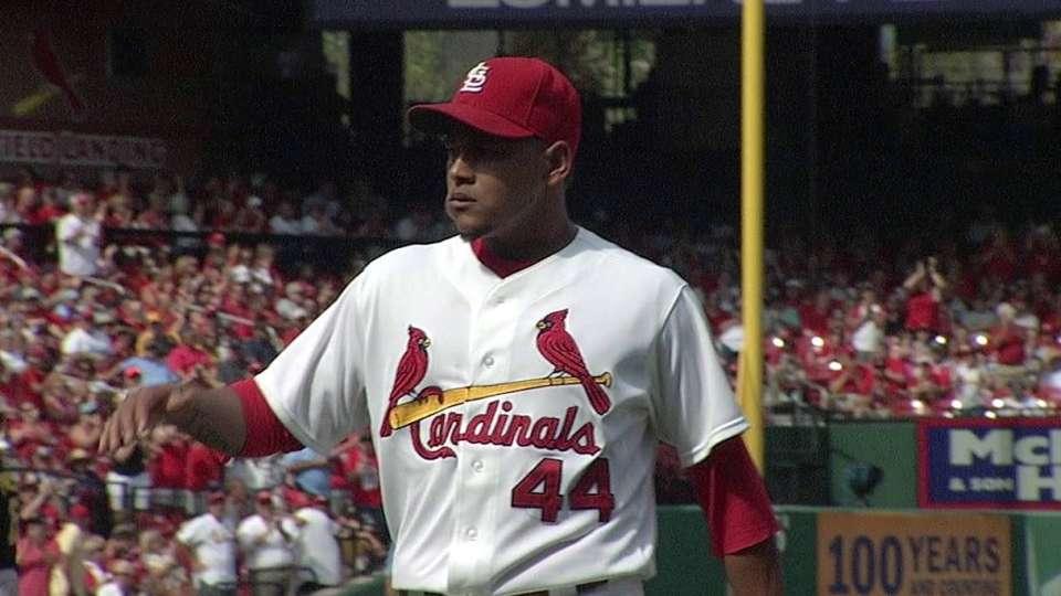 Martinez strikes out McCutchen