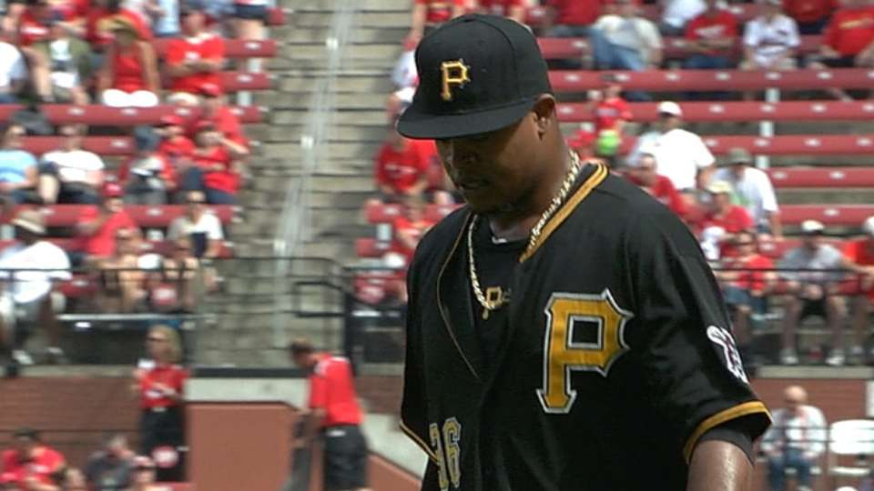 Volquez's scoreless outing