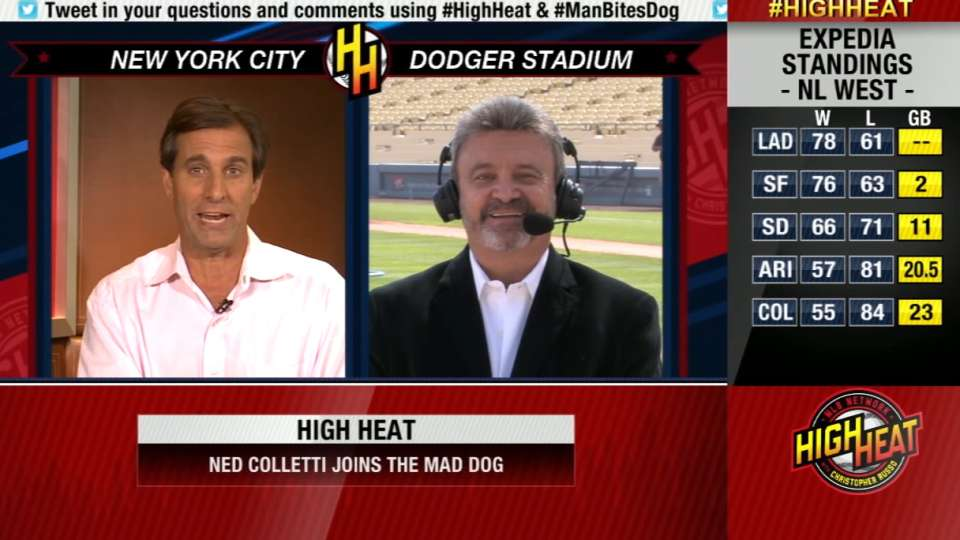 Ned Colletti joins High Heat