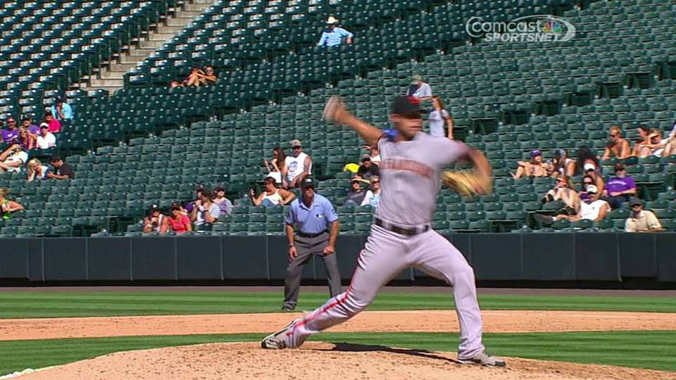 Strickland's first career K