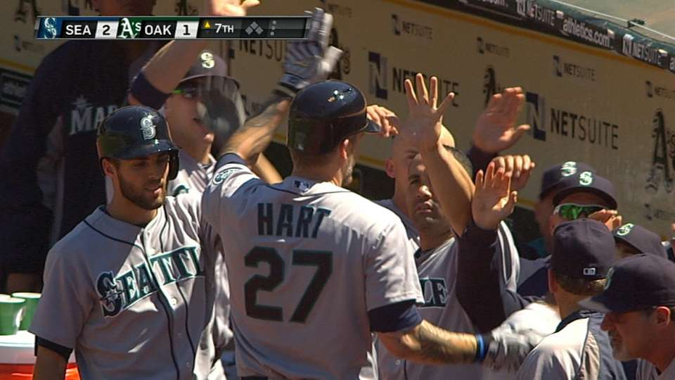 Seager, Hart go back-to-back