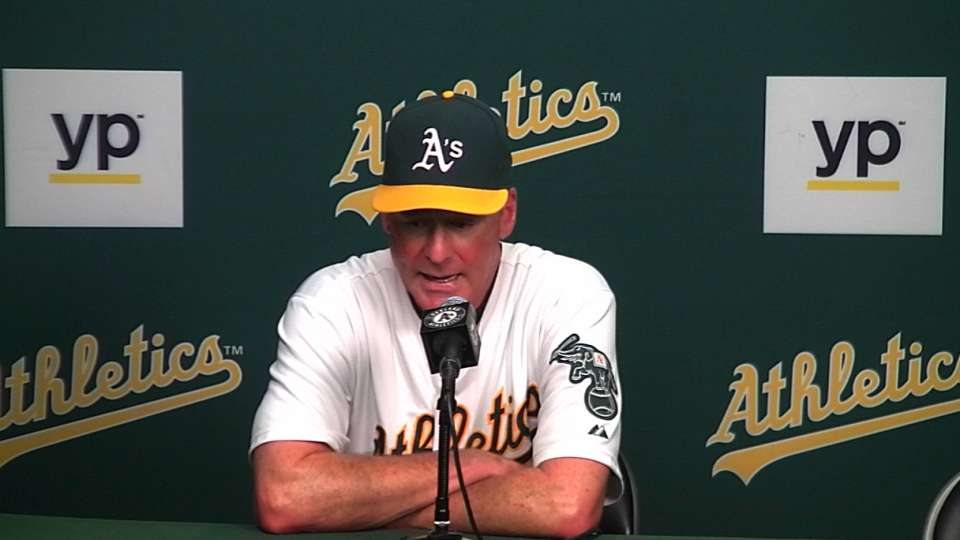 Melvin on loss to Mariners