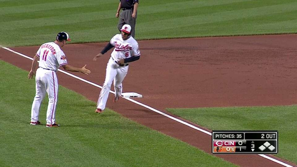 Schoop's solo home run