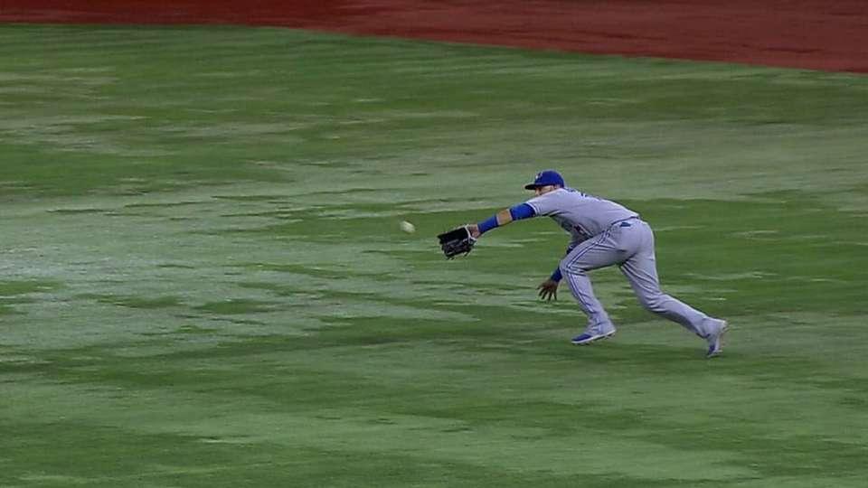 Bautista's great grab