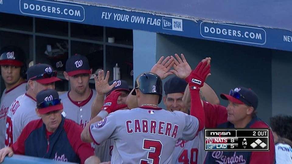 Cabrera's two-run homer