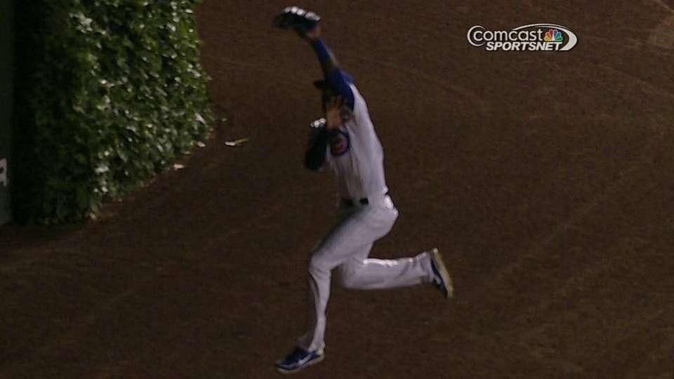 Soler's impressive catch