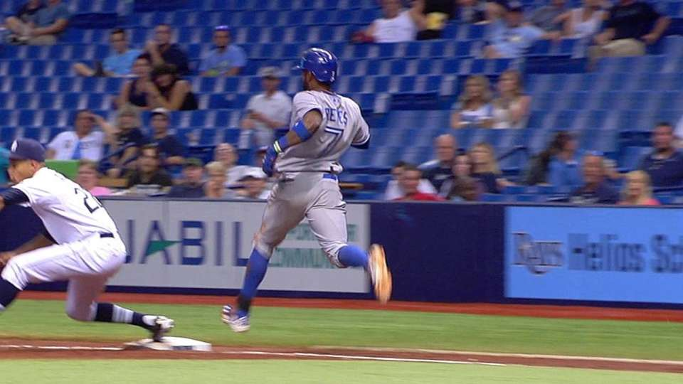 Loney recovers for the out