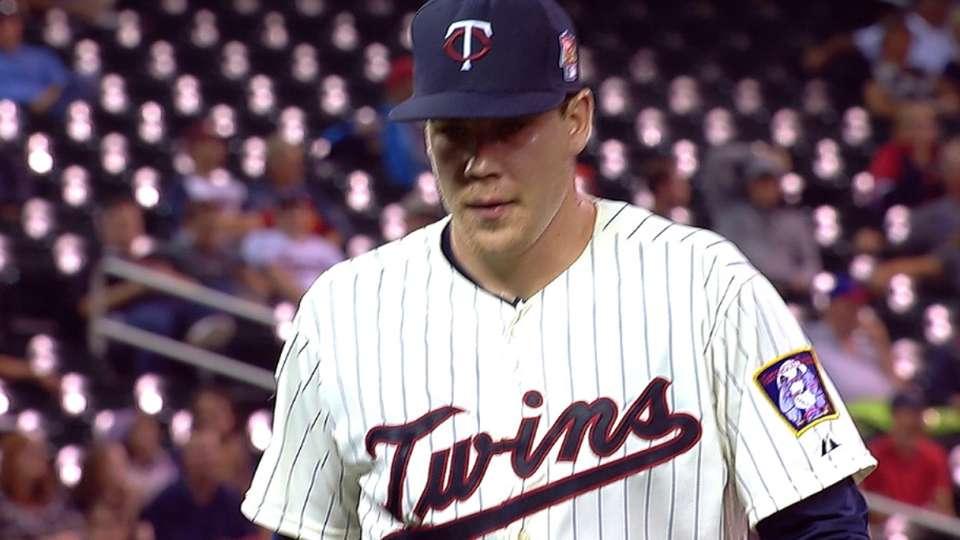 May picks up first MLB win