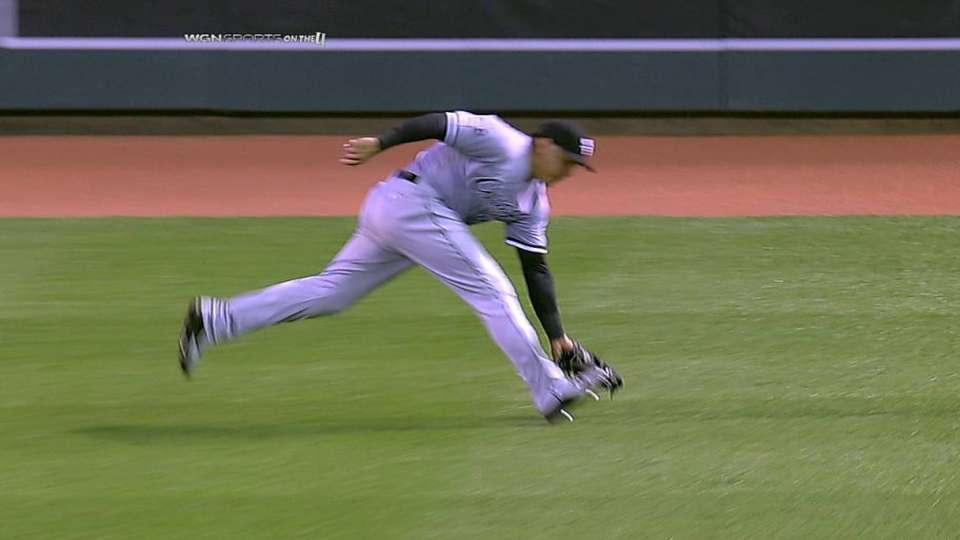 Snodgress makes MLB debut