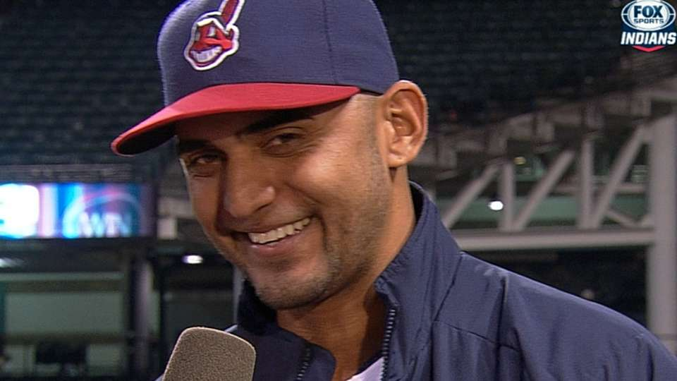 Salazar on his dominant outing