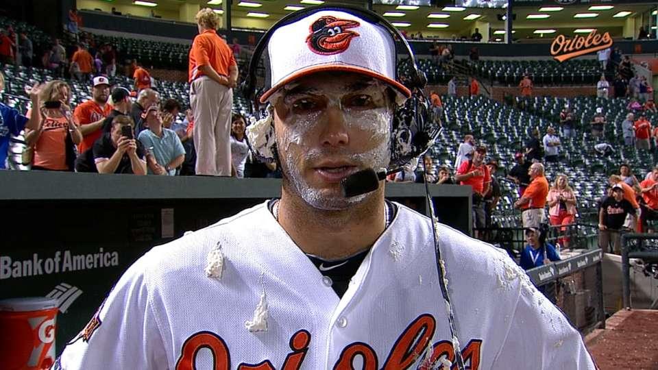 Gonzalez on first career shutout