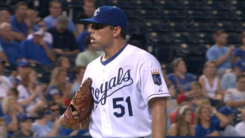 Vargas' six strikeouts