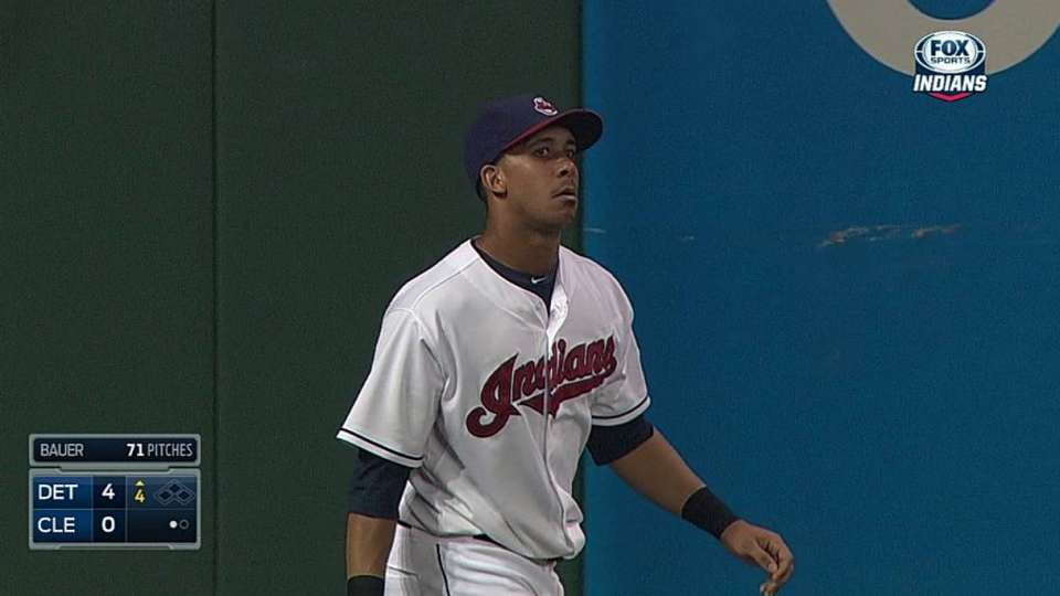 Brantley's running catch