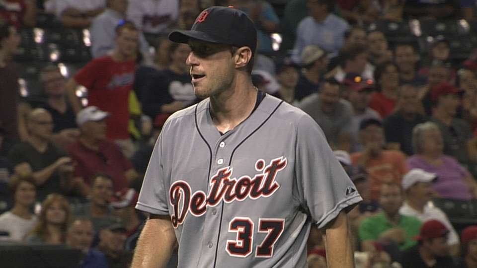 Scherzer's six strikeouts