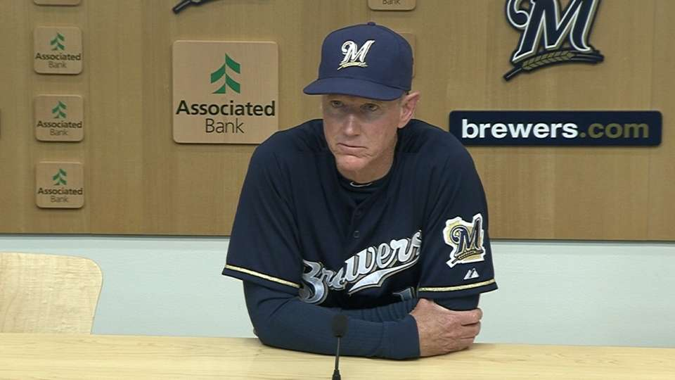 Roenicke on the 3-2 loss