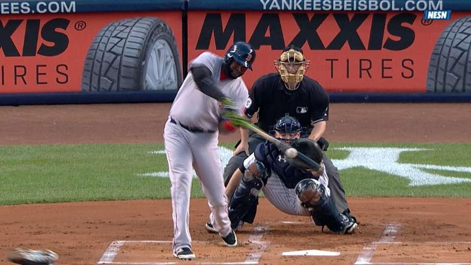 Ortiz conecta primero de dos HR