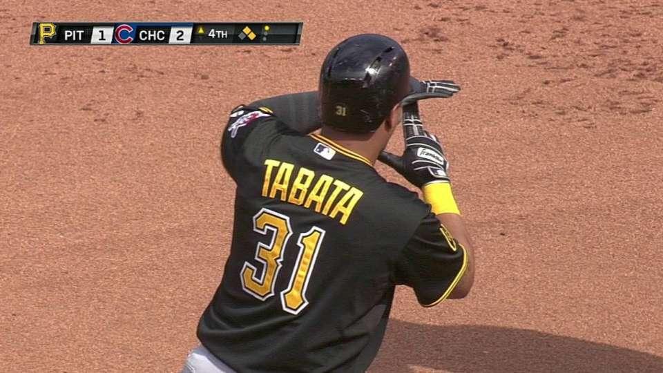 Tabata's RBI double