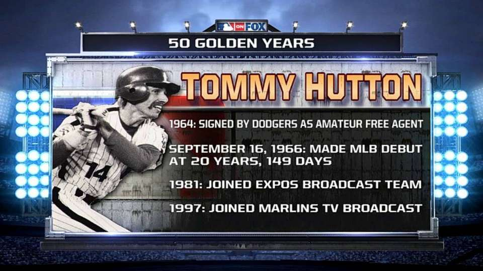 Hutton on 50 years in baseball