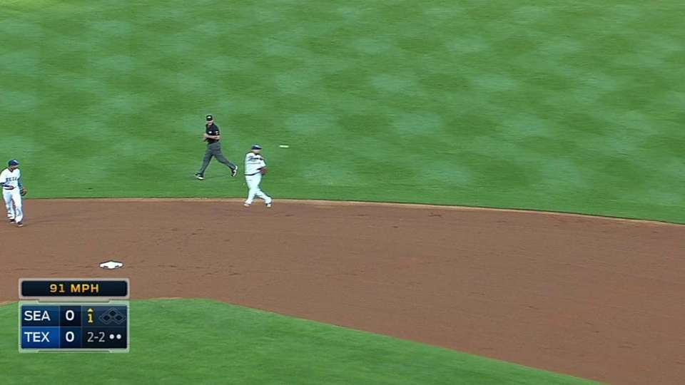 Rangers combine for great play