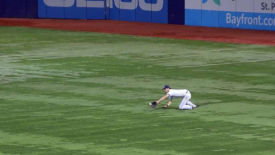 Myers' diving catch