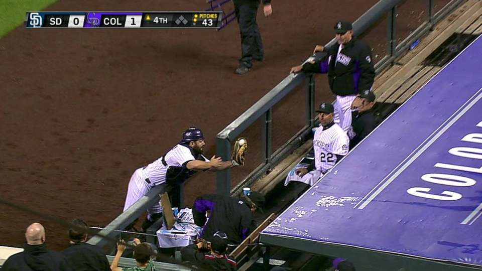 McKenry's great catch