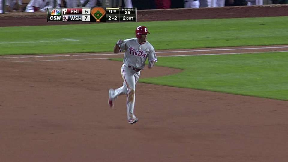 Revere's game-tying solo shot