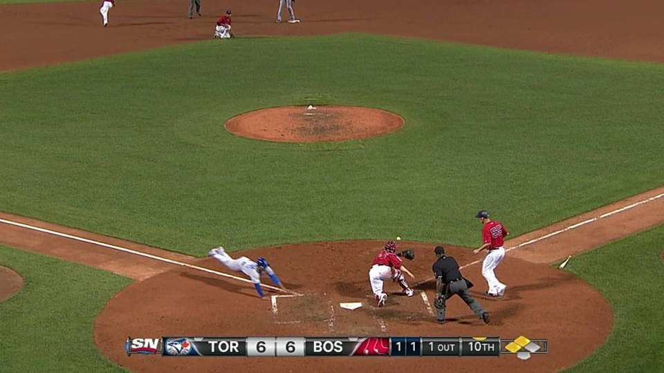 Stroman scores go-ahead run