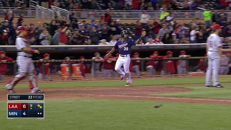 Plouffe's game-tying double