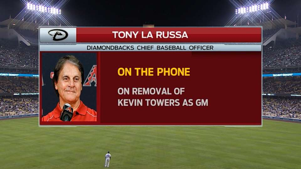 La Russa joins the broadcast