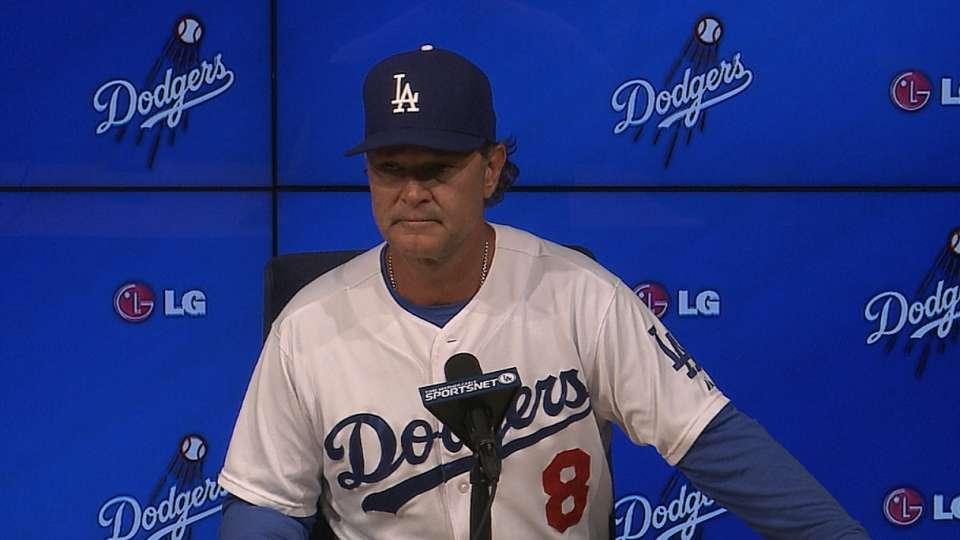 Mattingly on Dodgers' 2-1 win
