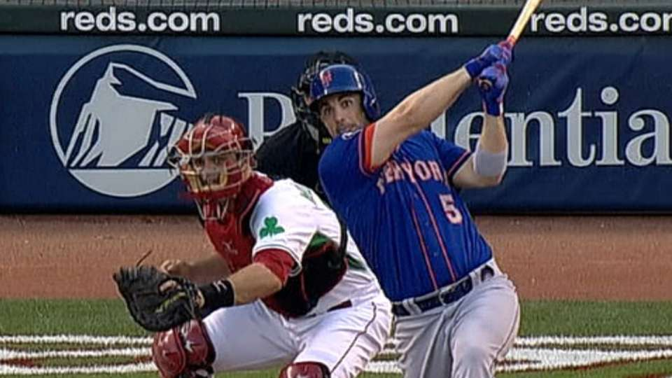 Wright's four-hit night