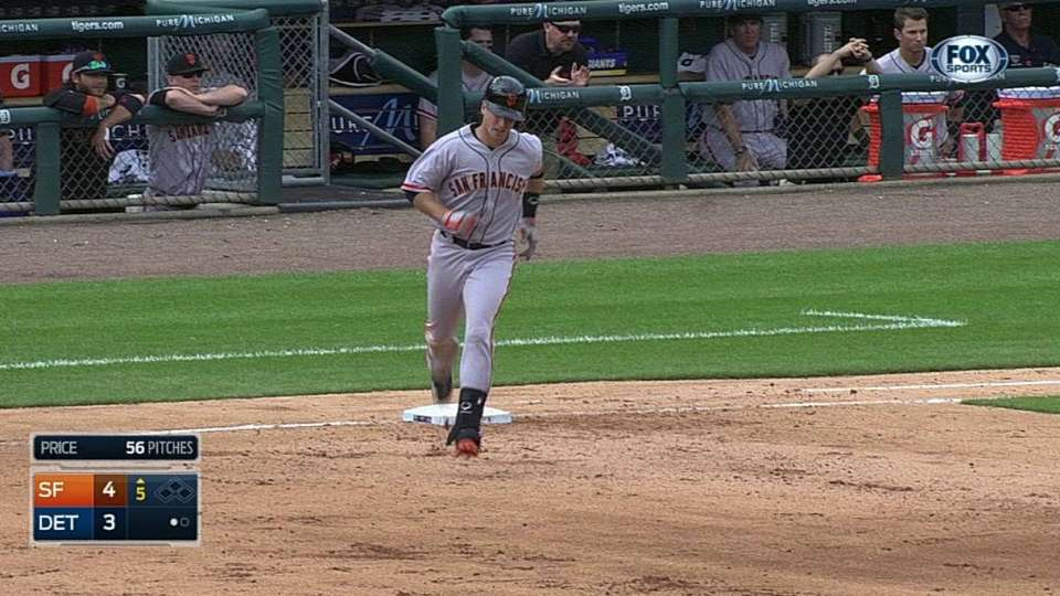 Posey's solo dinger