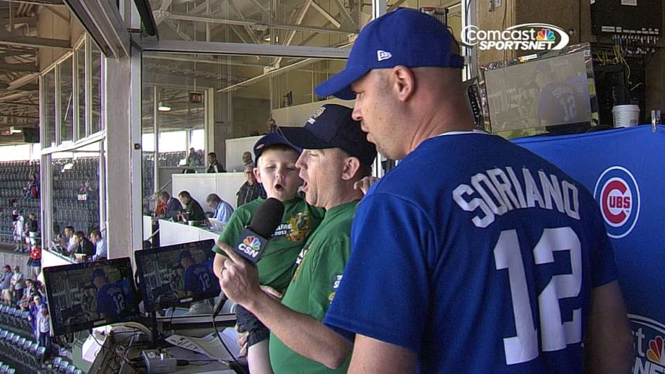 'Clemente' cast sings at Wrigley
