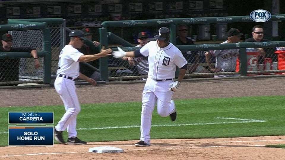 Miggy's second home run