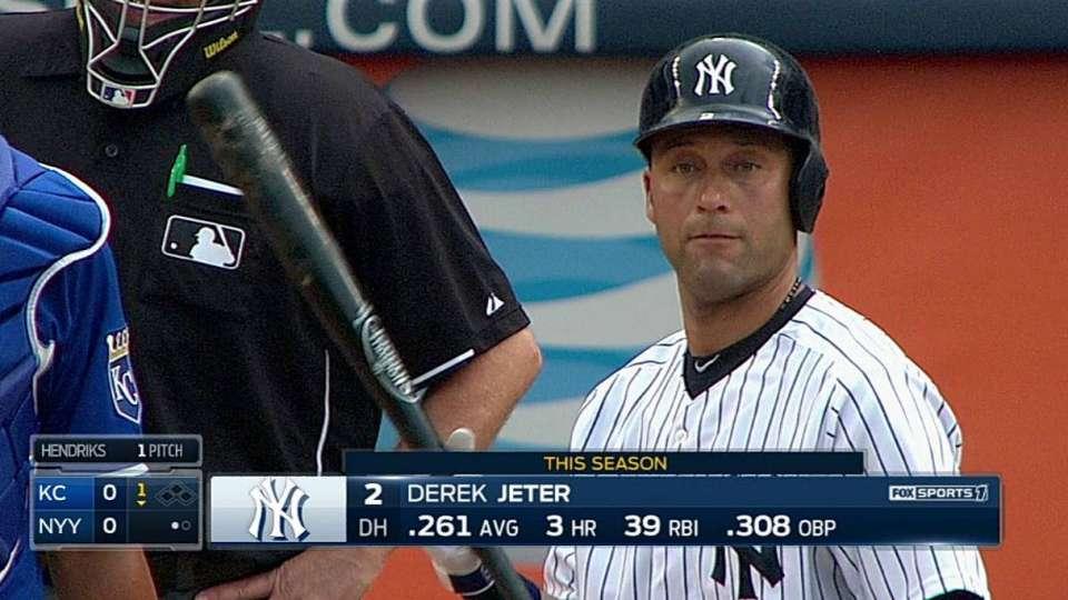 Jeter's warm ovation