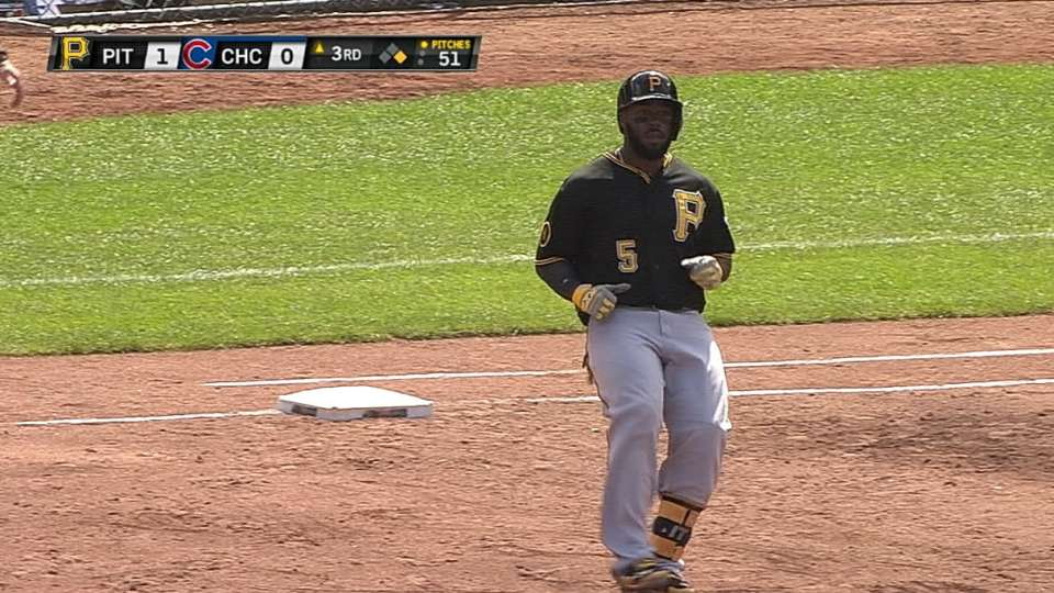 Harrison collects four hits
