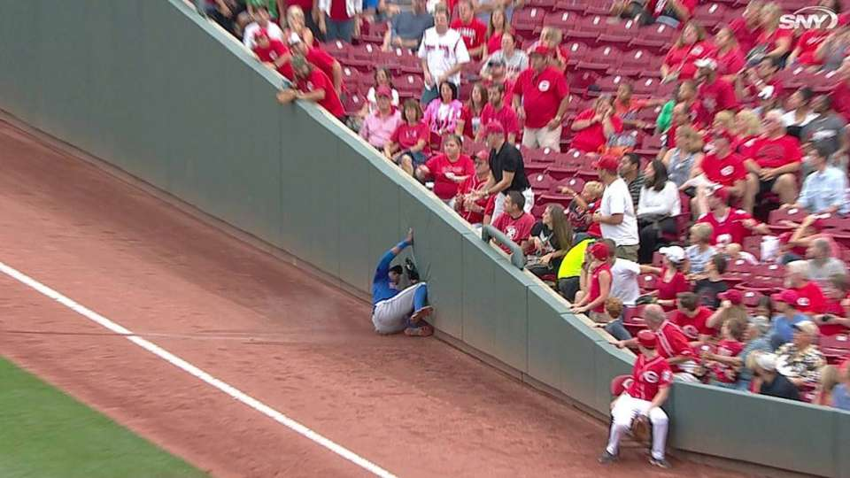 Granderson's sliding catch