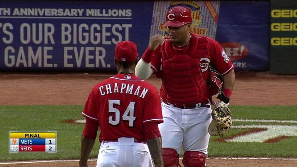 Chapman seals the win