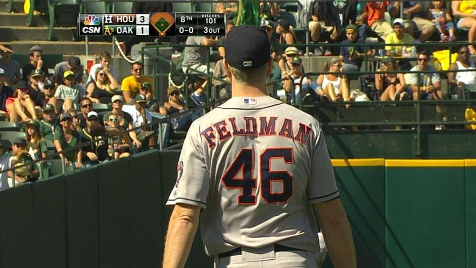Feldman's impressive outing