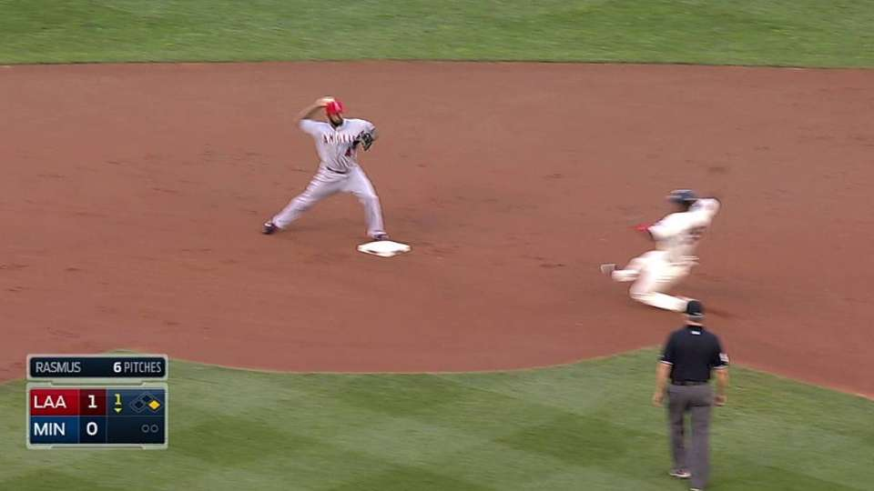 Freese starts double play